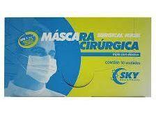 MÁSCARA TRIPLA  CAIXA C/ 50 SKY